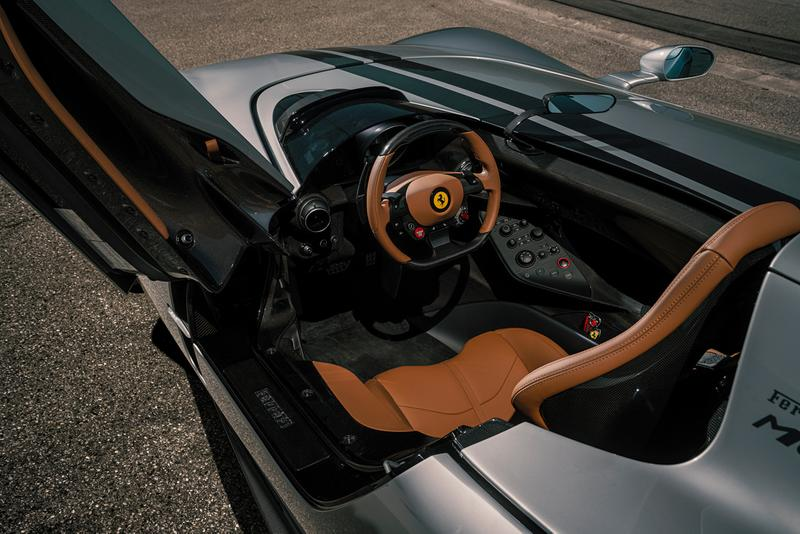 NOVITEC Ferrari Monza SP1 SP2 Custom Tuning Italian Supercar Hypercar Open Top Roadster Limited Edition Power Performance V12 844 HP Engine Speed