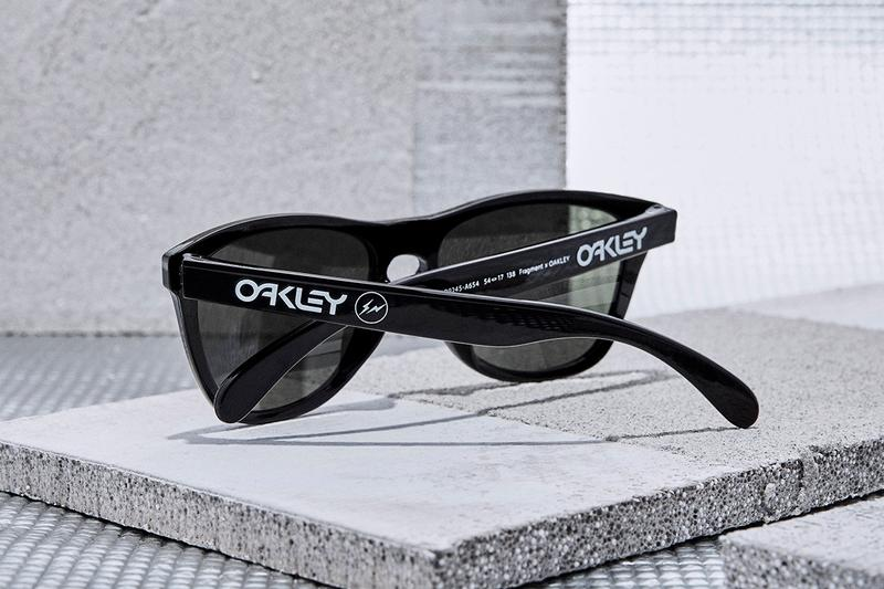 Oakley japan fragment design hiroshi fujiwara collaboration eyewear sunglasses goggles frogskins fall line O FRAME 2.0 XM october 31 fw20 release date buy ino