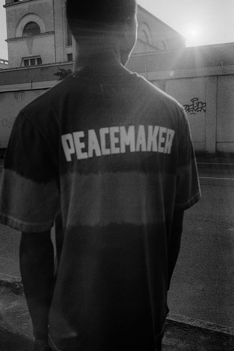 "OAMC ""Peacemaker"" Tie-Dye Collection release information liner military jacket m-65 t-shirt black cherry"