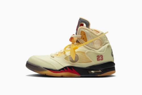 "Off-White™ x Air Jordan 5 ""Sail"""