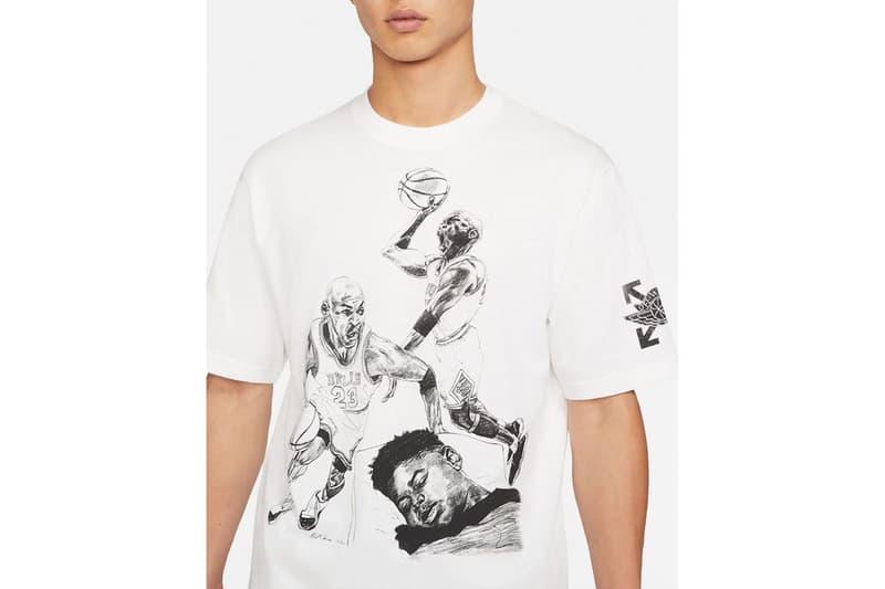 Off-White™ x Jordan Brand Apparel Capsule Leak  Philip Burke Jordan Brand hoodies shirts Nike Wings jumpman wings 23 Michael Jordan
