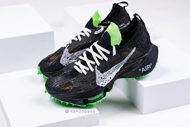 off white nike sportswear running air zoom tempo next percent black green white virgil abloh official release date info photos price store list buying guide
