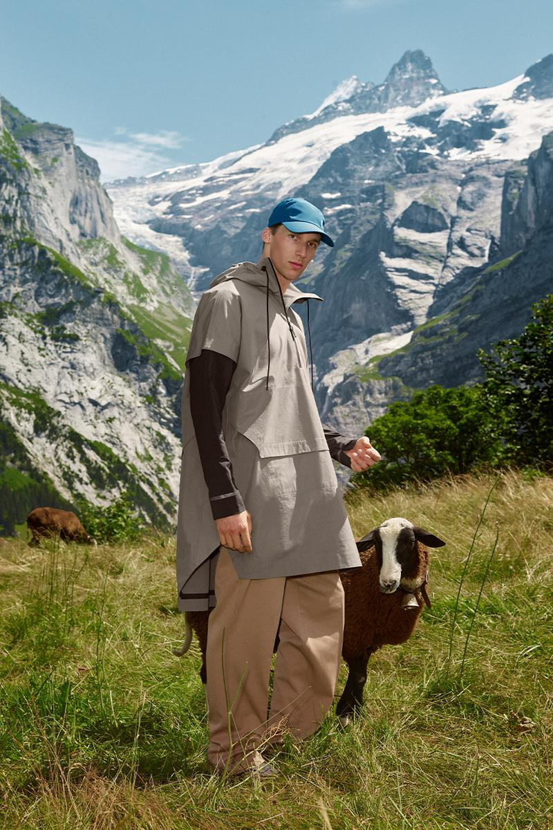 on running Swiss legacy jacket 2020 release information natural sustainable fabrics switzerland