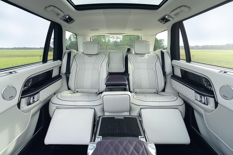 "Overfinch Land Rover Range Rover Autobiography LWB ""Sandringham Edition"" North America Limited Luxury Edition 4x4 SUVs ""Nebula Black"" British Automotive Engineering Family Car Cars"