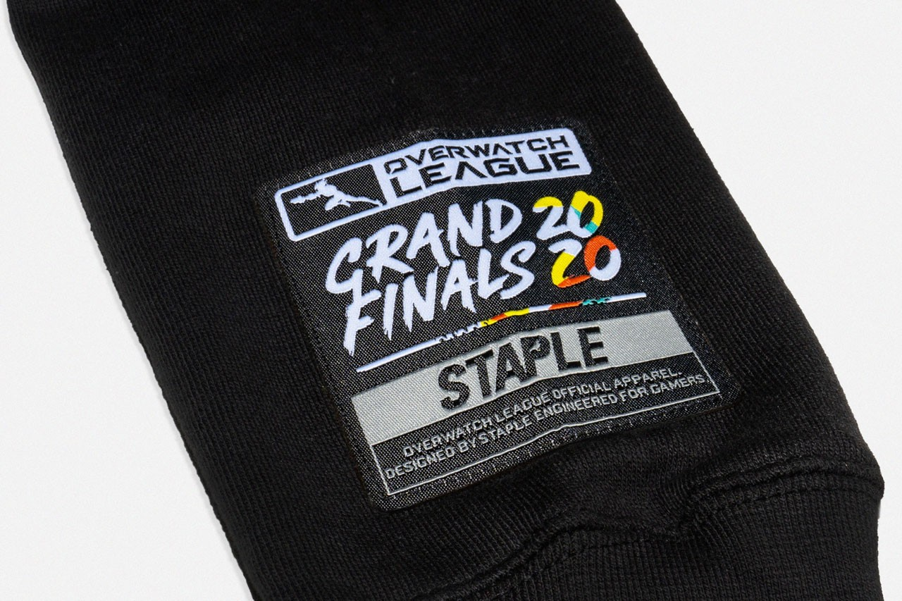 HB style giveaway OWL 2020 Grand Finals Play Kit premium elevated style comfort cut and sewn pieces better fitting durability breathability high tech silicon application woven jocktags side zippers