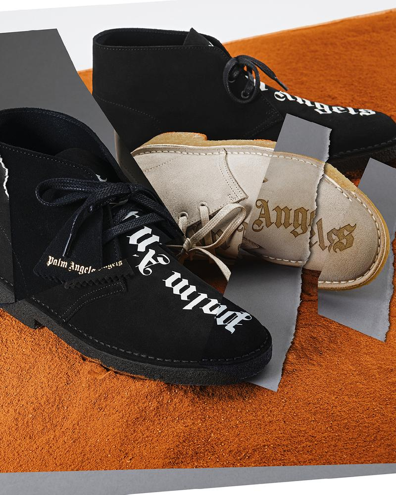 Palm Angels x Clarks Wallabee FW20 Shoe Collaborations fall winter 2020 boot mens womens desert low moccasin