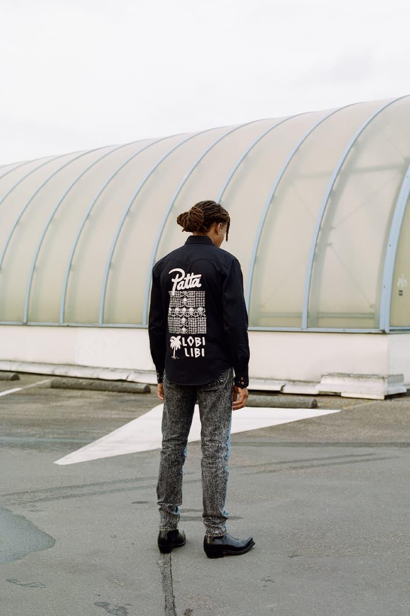 Patta reworks Levi's fall winter 2020 capsule series collection denim dutch skate wear