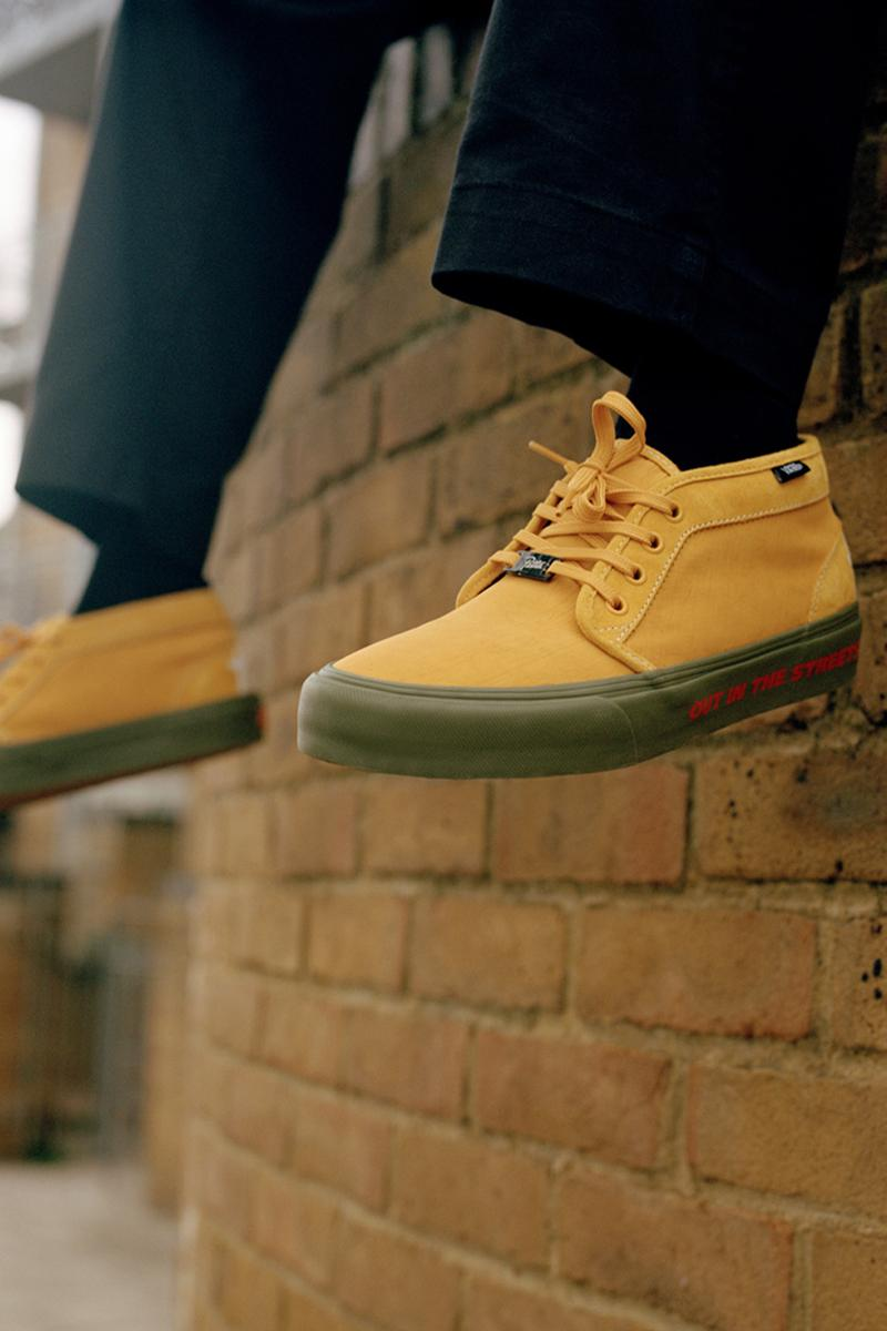 patta vans skate shoe chukka 79 style 36 info release skate shoe Jamaican rude boy culture