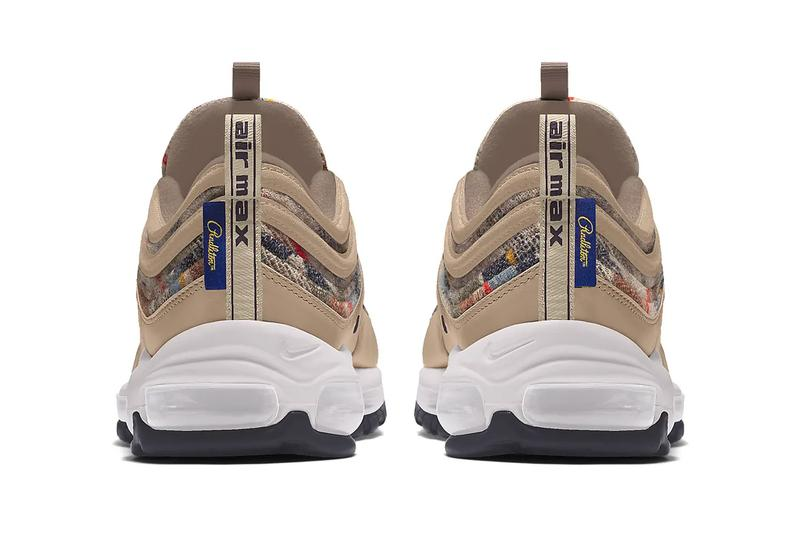 Pendleton Nike By You Air Force 1 Air Max 97 menswear streetwear footwear kicks runners trainers shoes sneakers fall winter 2020 collection