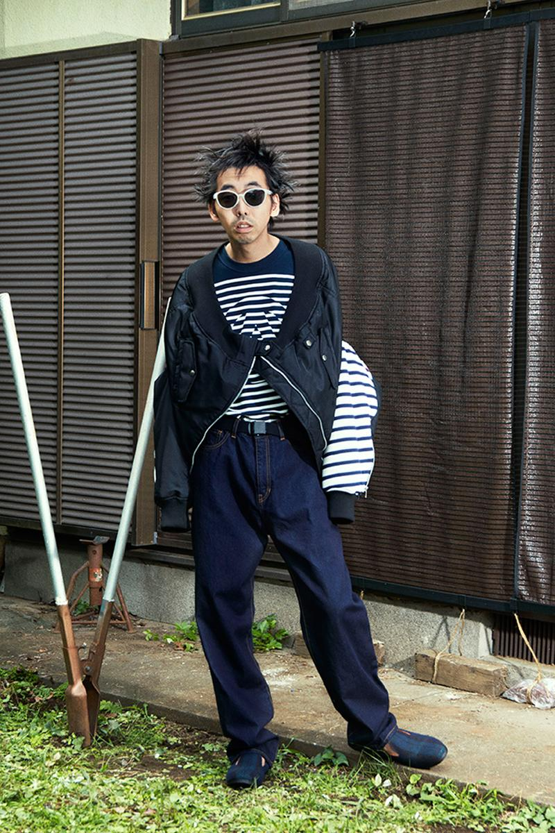 PHINGERIN Spring Summer 2021 Lookbook menswear streetwear shirts jackets shorts pants button ups trousers jeans sweaters ss21 collection