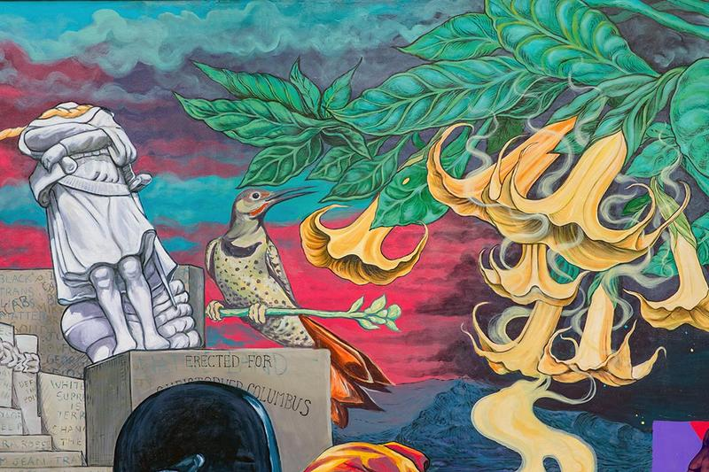 raul ayala groundswell students houston bowery wall mural