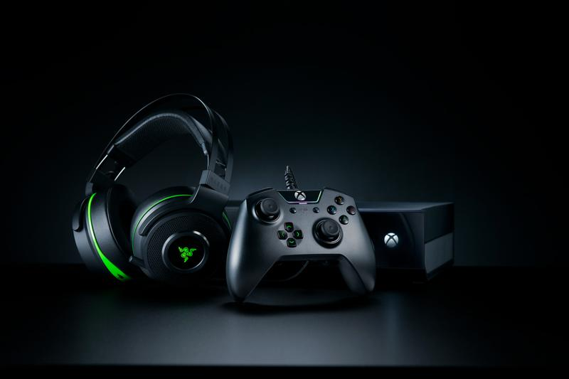 razer gaming peripherals xbox one series x s headphones controllers mouse keyboard forward compatibility