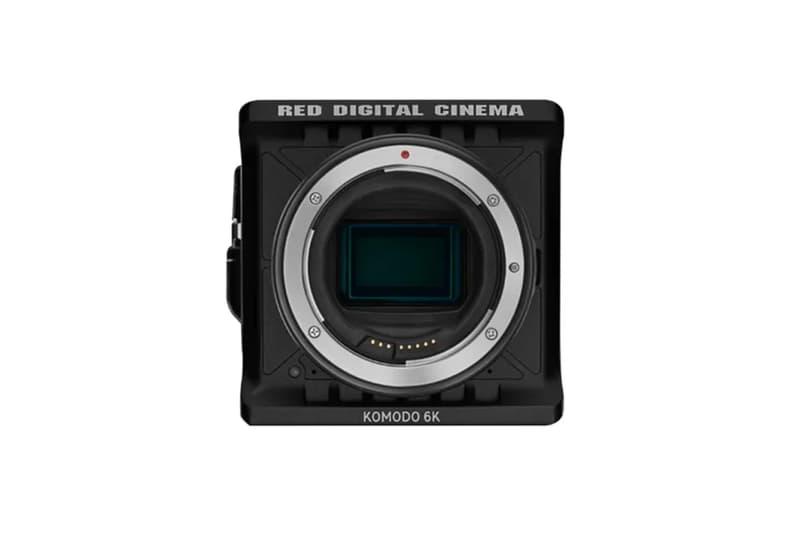 red digital cinema komodo 6k resolution camera photography cinematography movies film production