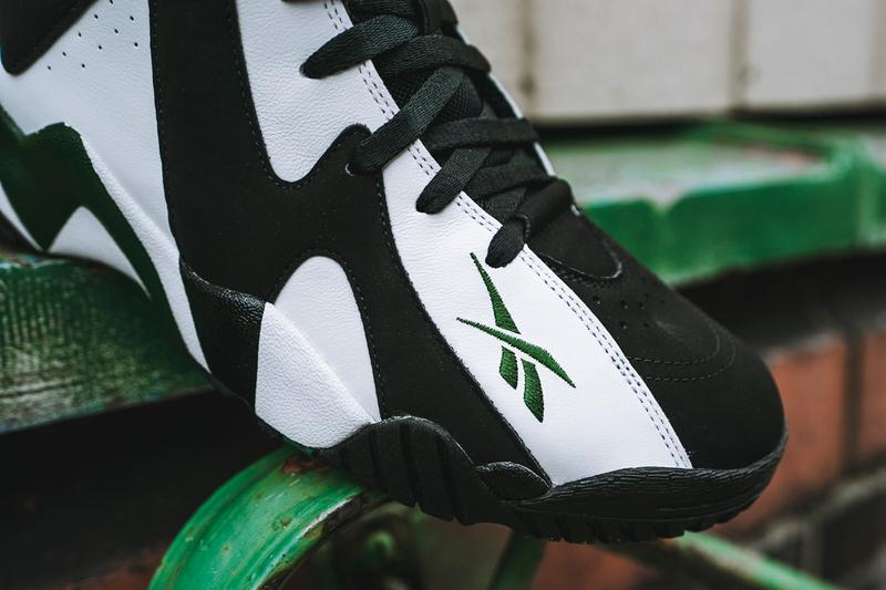 reebok kamikaze ii 2 og black white green fy7512 shawn kemp official release date info photos price store list buying guide