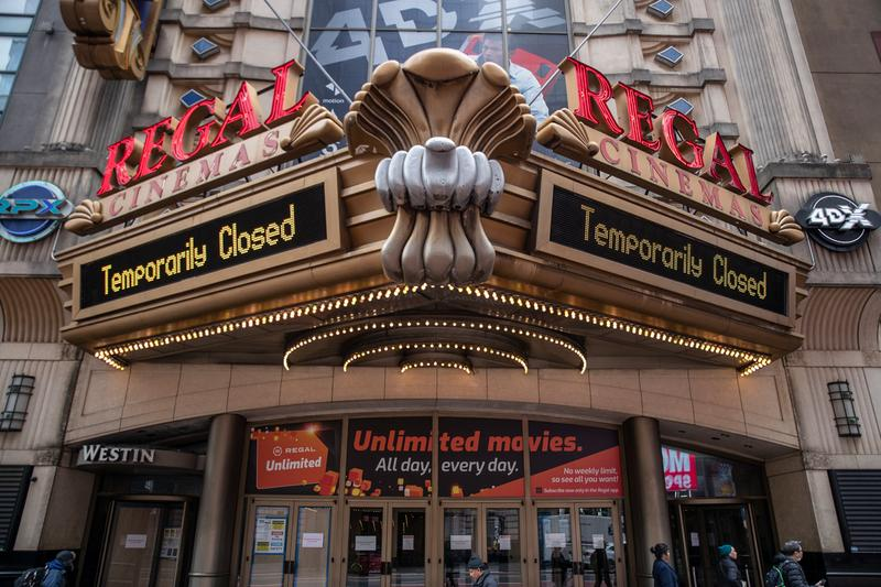 Regal Cineworld Cinemas Shut Down United States United Kingdom