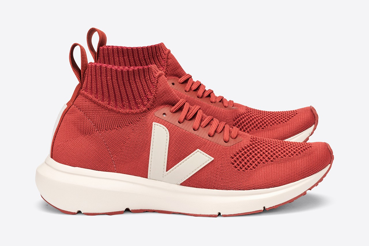 veja rick Owens running sneakers fall winter 2020 collection sustainable trainers