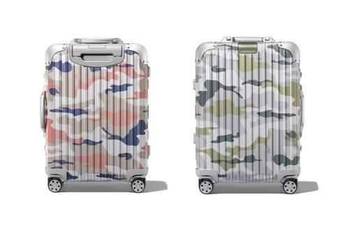 RIMOWA Dresses Its Original Aluminium Suitcase in Camouflage Print