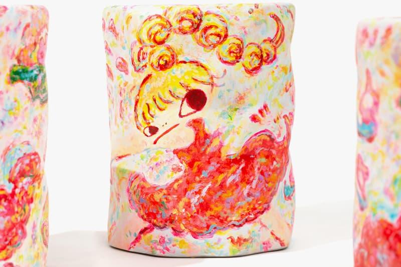 Rokkaku Ayako AllRightsReserved Ceramic Stool artist Magic Hand GALLERY TARGET Japan Chiba Prefectural Museum of Art painting sculpture furniture