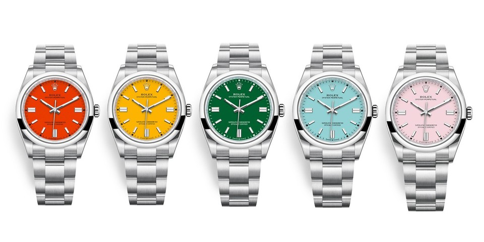 Is Rolex's New Colorful Oyster Perpetual a Future Classic?