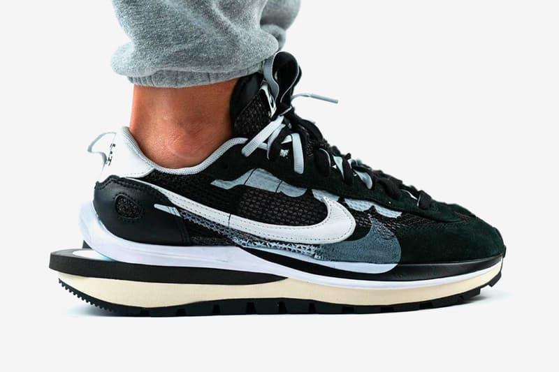 sacai Nike Vaporwaffle Release Date Info Black Summit White Pure Platinum Chitose Abe Buy Price