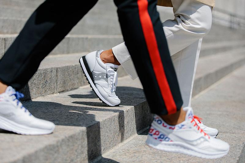 Saucony for Prinkshop, She Should Run Sneakers apparel collection collaboration jazz hero kinvara II 2 colorways buy release date info womens