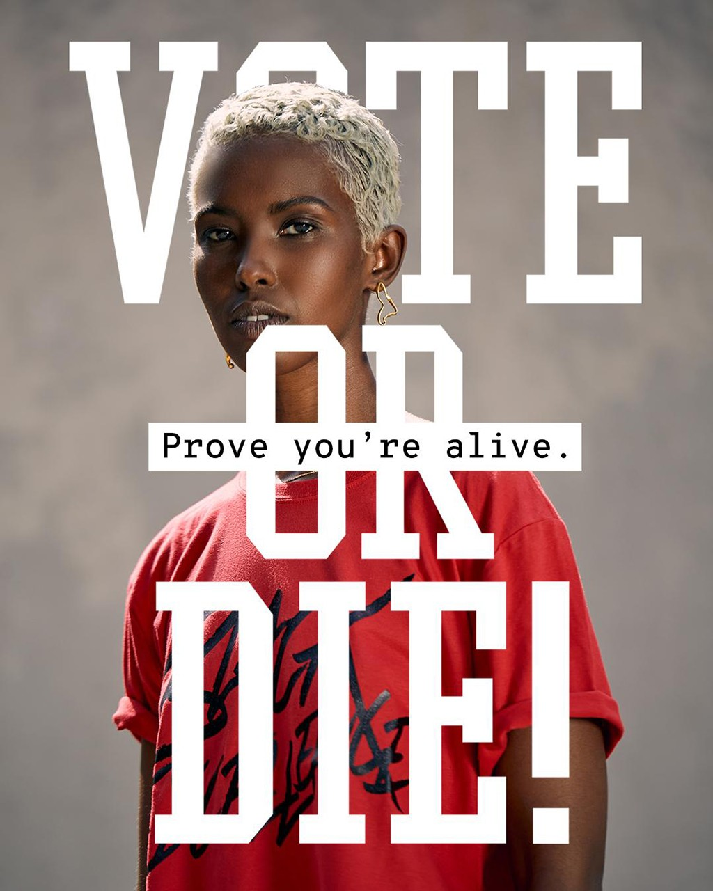 Sean John Vote or Die Campaign Tee Shirts design reissue relaunch p diddy combs collection revolt joe biden donald trump presidential pyer moss black lives matter election 2020
