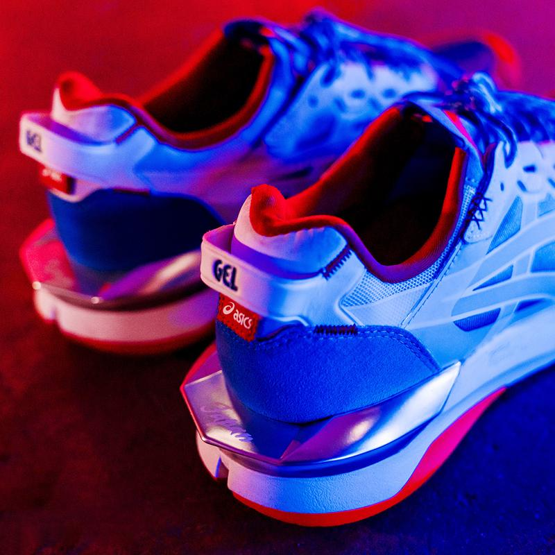 shoe palace asics gel lyte xxx white red blue japan Shigeyuki Mitsui world cup kendo way of the sword official release date info photos price store list buying guide