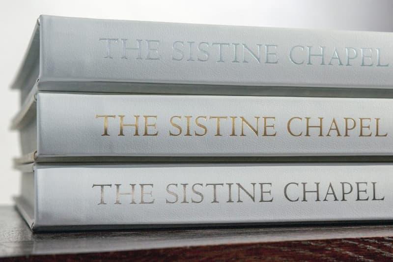 sistine chapel photo book vatican museums