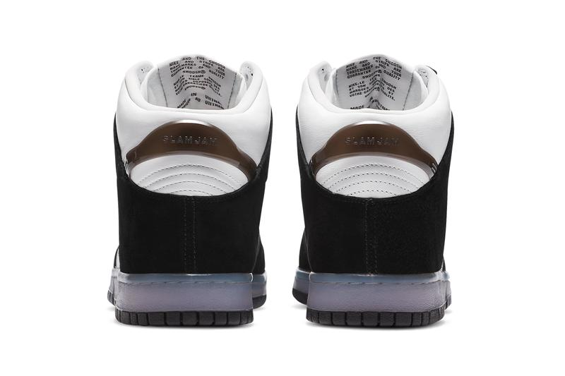 slam jam nike sportswear dunk high clear black white DA1639 101 official release date info photos price store list buying guide