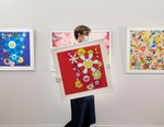 Sotheby's London Auctions off Works by Takashi Murakami, KAWS and More