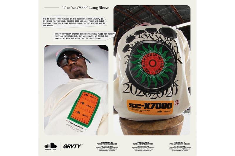 SoundCloud GRVTY Pure & Wondrous Sounds Collection Release t-shirts sweatshirts vinyl slipmats Info Buy Price