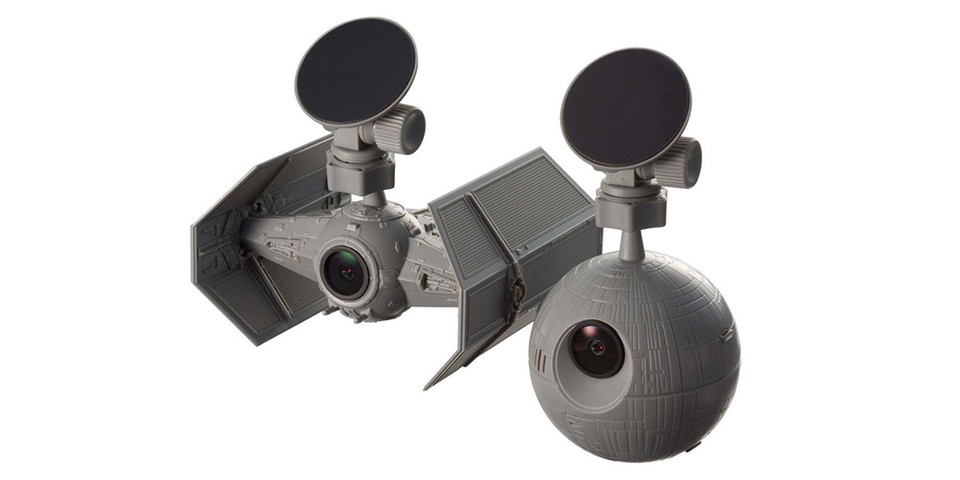 Harness the Force While Driving With Bandai's Death Star/TIE Fighter Dash Cams