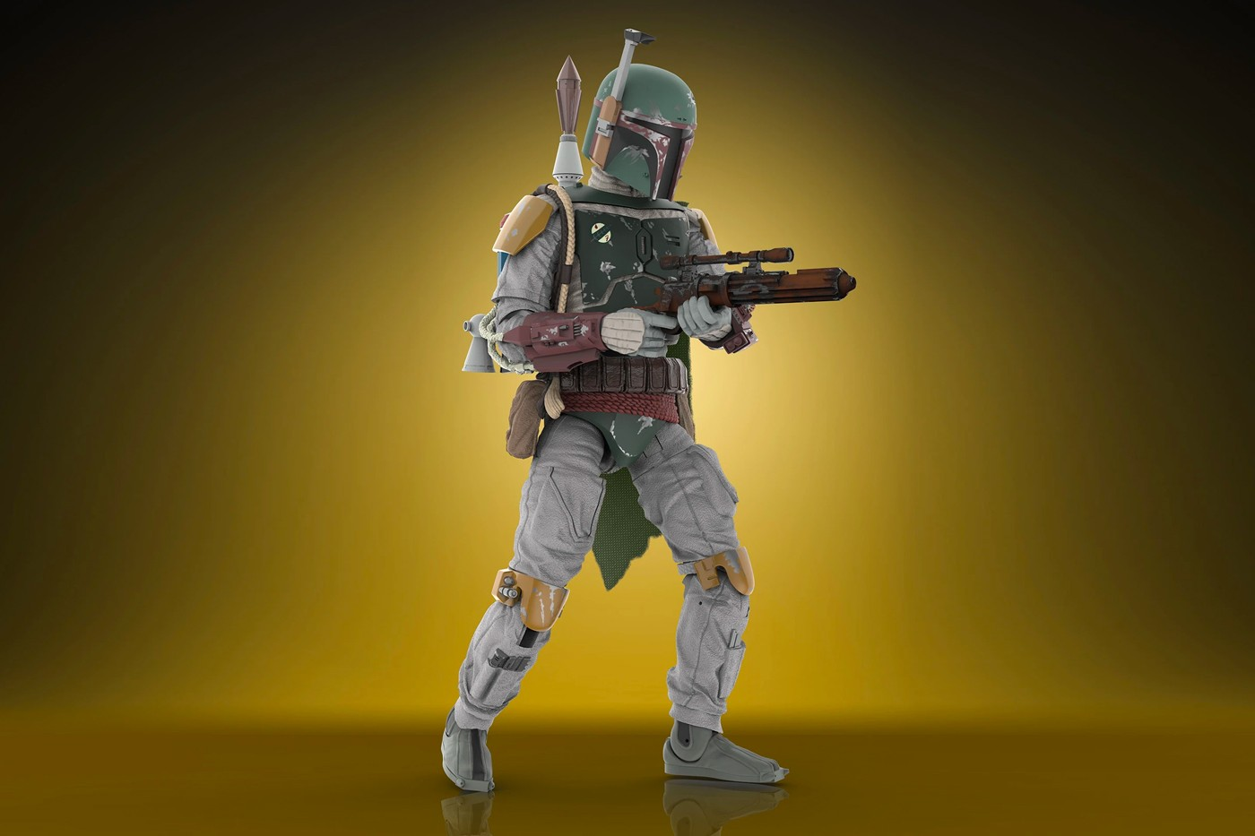 Star Wars Retro Collection Boba Fett Toy Action Figure Hasbro Kenner *IN HAND*