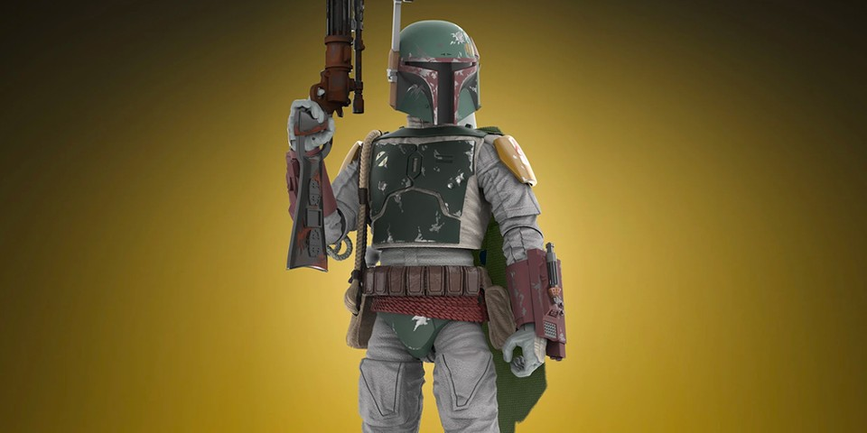 Hasbo Revisits the '80s With Vintage Collection 'Star Wars' Boba Fett Action Figure
