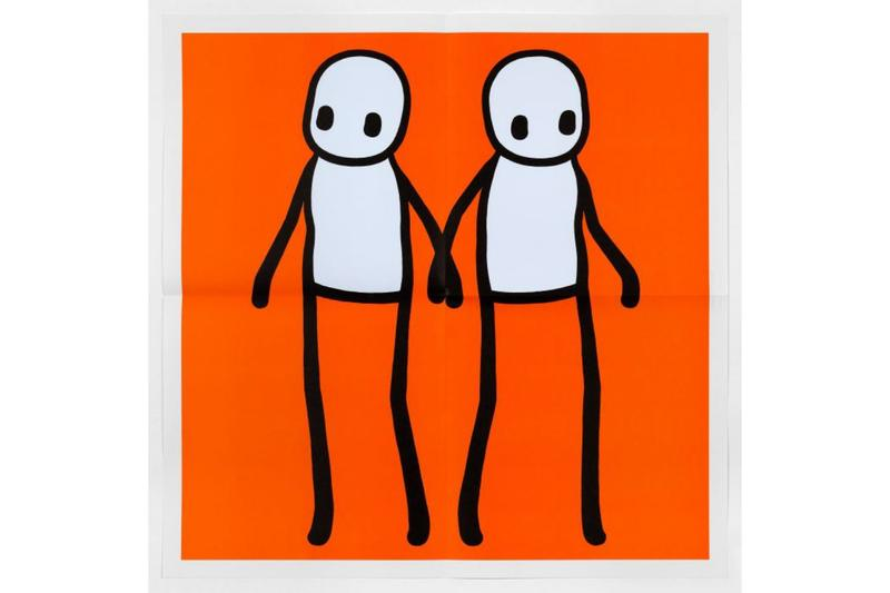 stik holding hands prints stolen london hackney