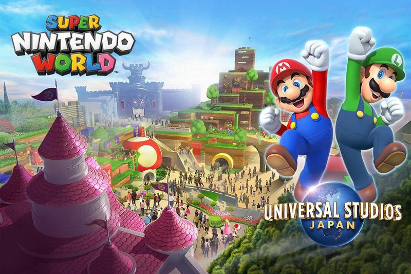 Super Nintendo World Opens in Japan Next Spring universal studios japan Super Mario Bros.