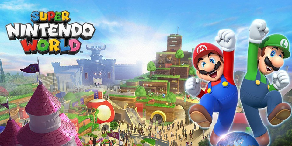 Super Nintendo World Will Open in Japan Next Spring