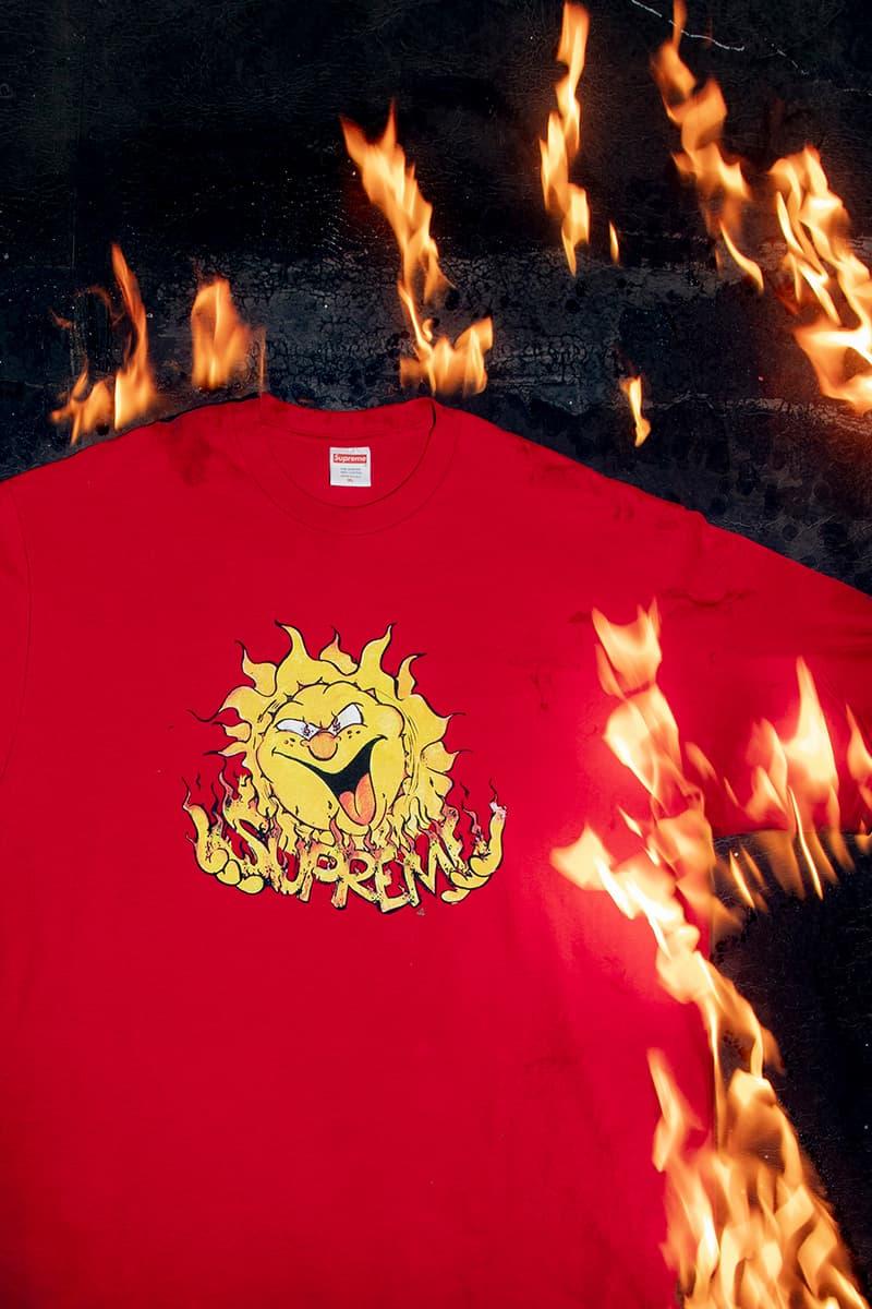 Supreme Fall 2020 Tees Box Logo Clientle Dicks Ultra Fresh Smurf Pill Sun Release Info Date Buy