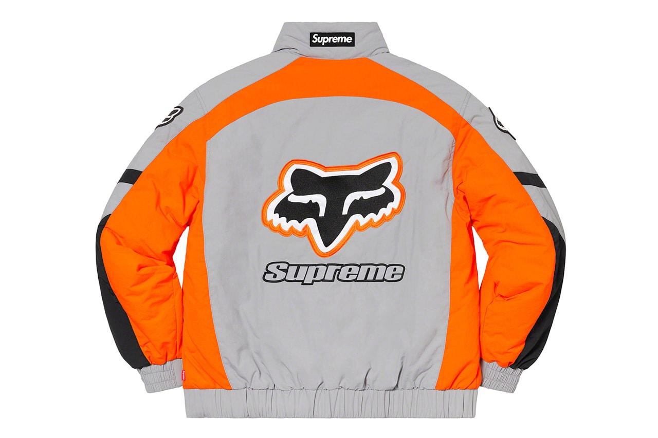 Supreme x Fox Racing 2020 秋冬聯名系列正式發佈