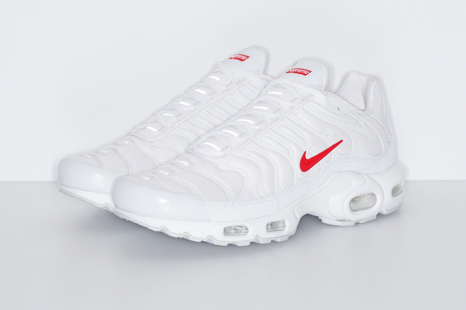 Supreme x Nike Air Max Plus 2020 秋冬系列聯名鞋款正式發佈