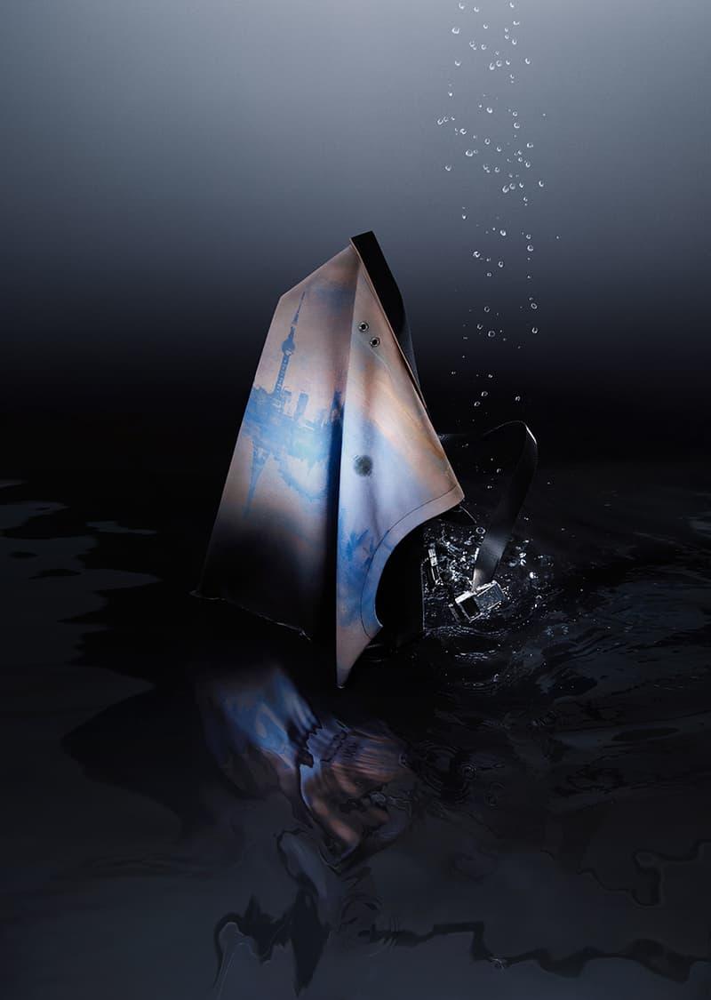 TEAM WANG MONET SPARKLES Capsule Collection HBX Release Bund One Art Museum Shanghai Package Jackson
