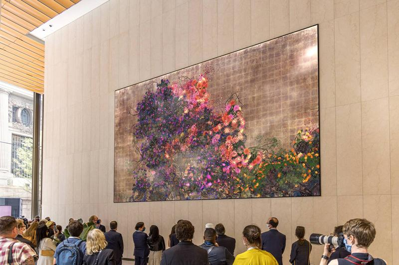teamlab one vanderbilt permanent public artwork grand central terminal  Continuous Life and Death at the Now of Eternity II,