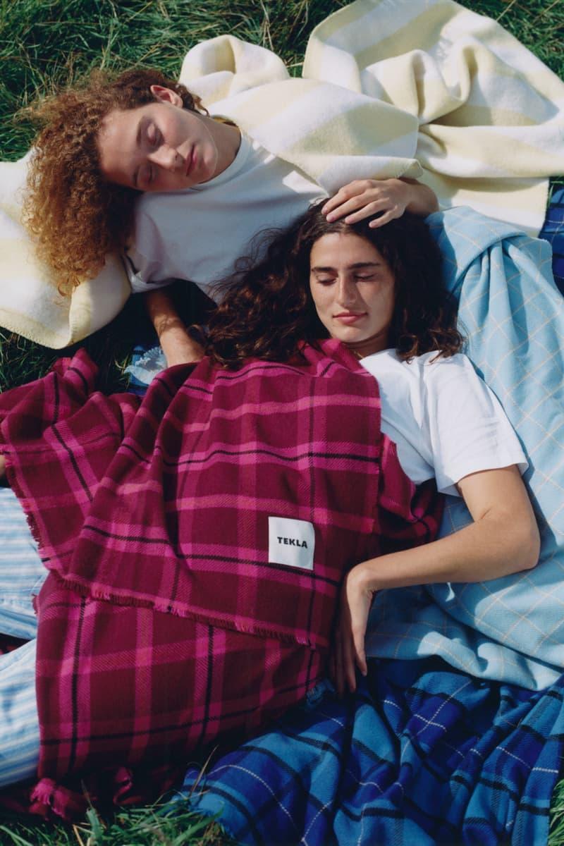 Tekla Fall/Winter Pure New Wool Blankets Fine Merino Blankets Laura Jane Coulson London Photographer Campaign Release Information Homeware Copenhagen Luxury Fabric Company Interior Design