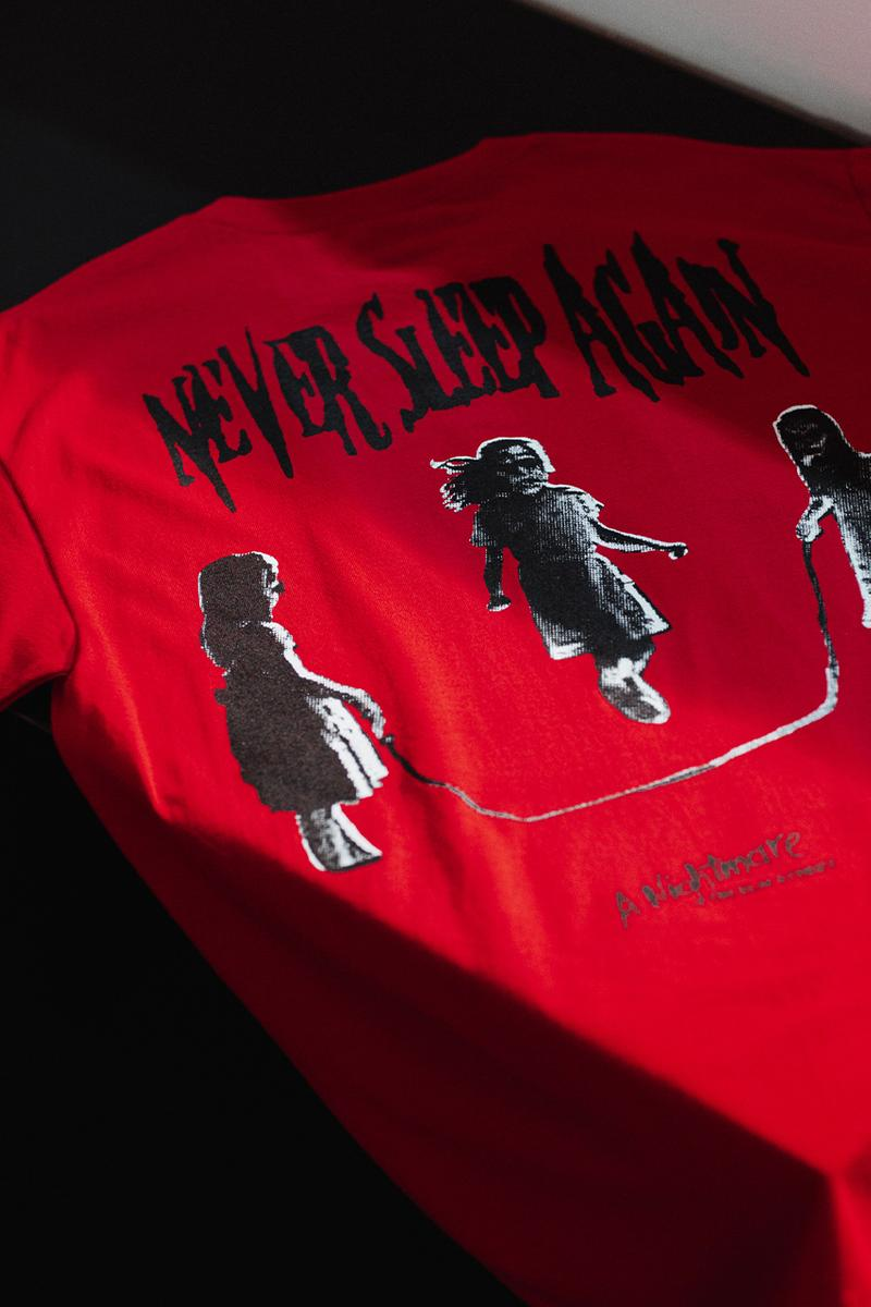 the hundreds a nightmare on elm street fall winter 2020 collaboration horror Freddy Krueger