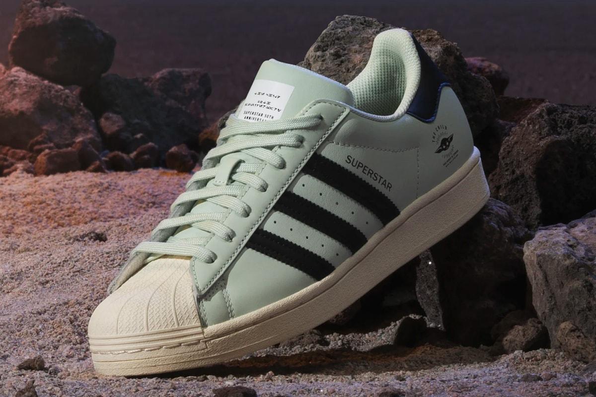 adidas Will Drop a Nine-Sneaker Tribute to 'The Mandalorian'