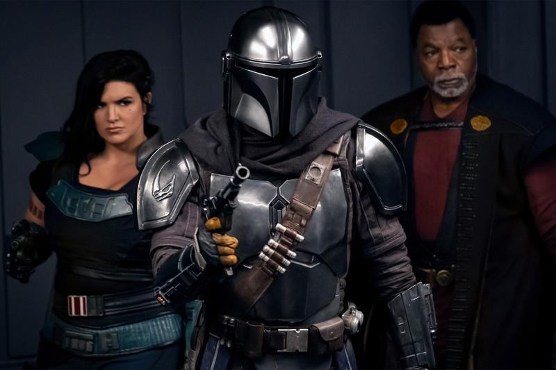 star wars disney plus the mandalorian jon favreau pedro pascal feature film interview season two three production