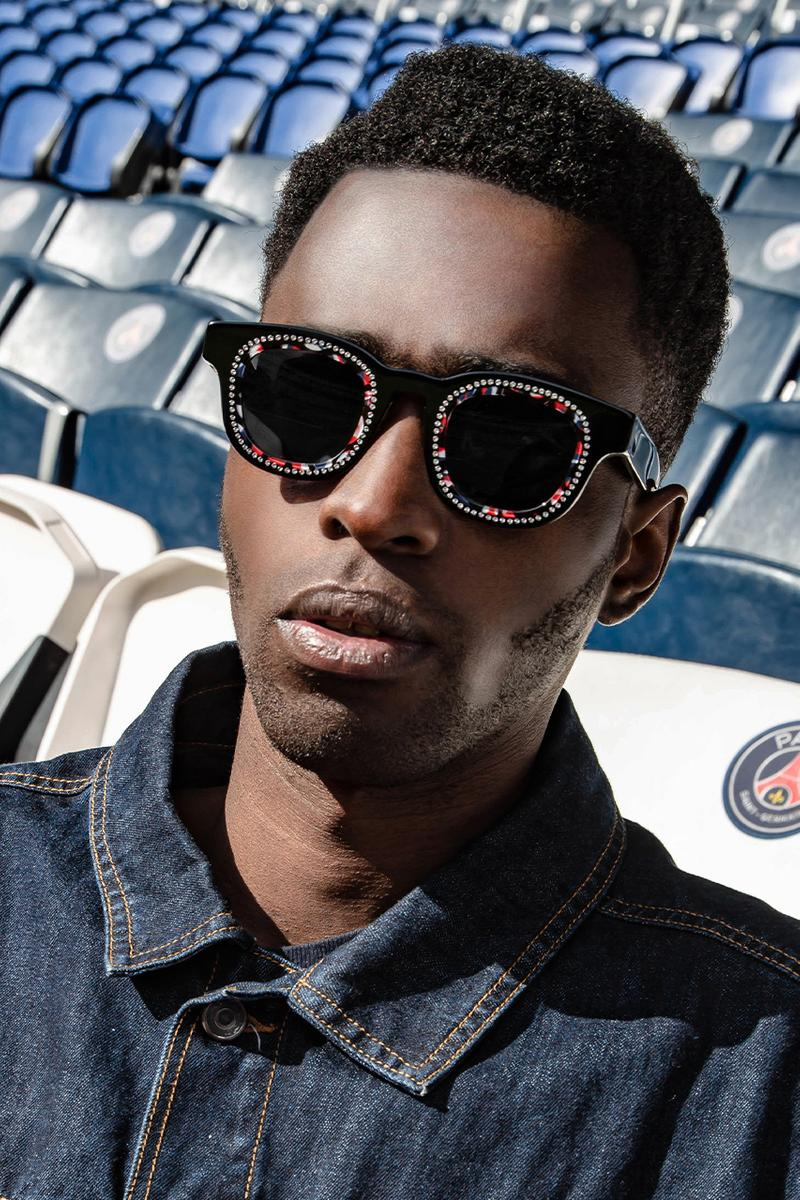 Thierry Lasry Paris saint germain psg sunglasses collaboration acetate soccer football