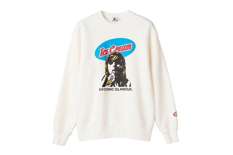 tokyovitamin HYSTERIC GLAMOUR Capsule With Verdy Release Info Date Buy Price Jacket Hoodie T shirt sweater Hat Duke of Harajuku LEX Ice Cream