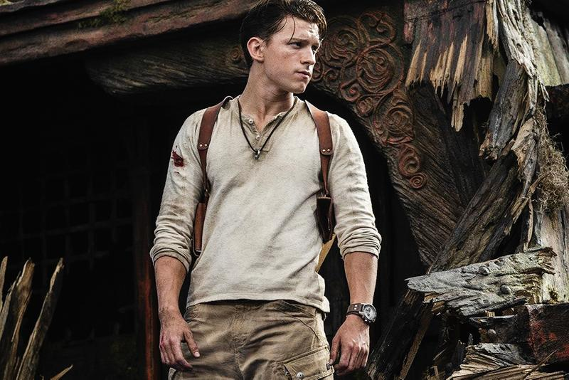 Tom Holland Nathan Drake Uncharted Live-Action First Look Photos Images Sony Pictures Info Release Date Premiere Naughty Dog