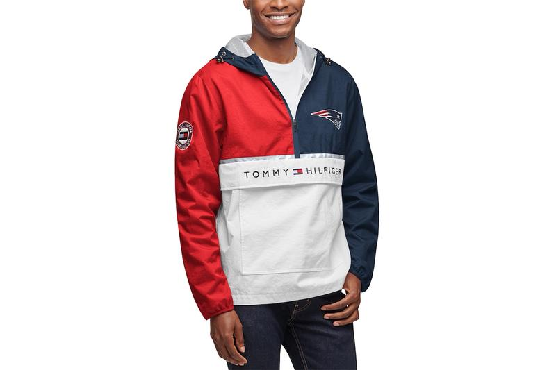 Tommy Hilfiger national football league Collab capsule Release info nfl